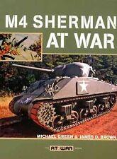 M4 Sherman in guerra in ww2 LIBRO rintracciati Armour Esercito Americano da Michael Green