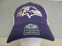 New Baltimore Ravens Mens Size OSFA '47 Brand Stretch Fit Cap Hat $28