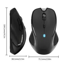 Wireless Bluetooth Mouse Optical 1600 DPI Mice For PC Mac Android Laptop