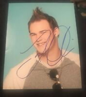 JAMES DURBIN SIGNED 8X10 PHOTO AMERICAN IDOL #2 W/COA+PROOF RARE WOW