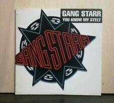 GANG STARR YOU KNOW MY STEEZ radio version - SO WASSUP clean version CDS PROMO