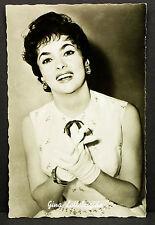 Gina Lollobrigida - Movie Photo - Film Foto Autogramm-AK (Flo-336