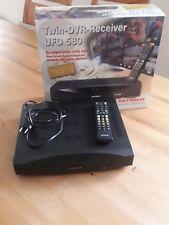 Twin-DVR-Receiver UFD 580 mit 80GB Hard Disc Drive von KATHREIN + Fernbedienung