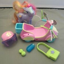 My Little Pony Scooter & Rainbow Swirl Pony 2002 & Accessories