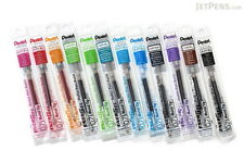 12 X  packs Pentel Energel Pen Gel Ink Refill 0.7mm 12 assorted colors.