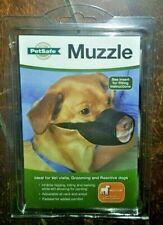 Petsafe Muzzle -Medium Breeds- Black~ Padded for Comfort & Adjustable! MUZ-M-BLK