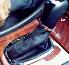 MERCEDES C 270 220 200 180 CUFFIA CAMBIO automatico PELLE NERA