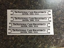 Base Tag Sticker Decal For Ncr National Cash Register