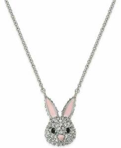 KATE SPADE Make Magic Bunny Rabbit Mini Pendant Necklace