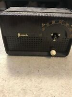 Mid Century Modern Space Age Eames era Jewel 5100 5200 Tube Radio Untested