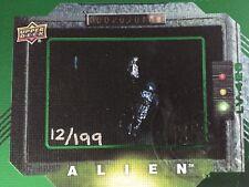 2017 Upper Deck Alien Employee Exclusive Uncut Sheet With COA Number 12 Of 199!