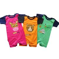 BNWT Baby Kids  Boys/Girls All In One Romper Outfit  Bodysuit  3-6m  up to 2-3 Y