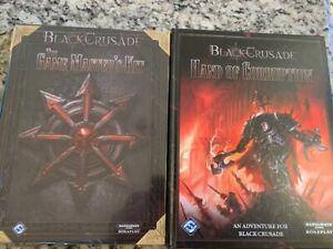 FFG Black Crusade RPG Lot 2 Books Brand New Warhammer 40k Roleplaying