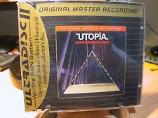 24K Gold CD UDCD-637 Utopia Ooops! Wrong Planet Sealed J Card