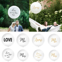 1 Metre Wedding Balloon Giant Wedding Balloon Latex 'Love is in the air','Love'