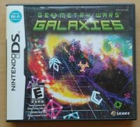 Geometry Wars: Galaxies Nintendo DS DS Lite 3DS 2DS Game Works Tested Complete