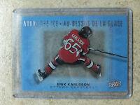 15-16 UD Tim Hortons Above The Ice #AI-EK ERIK KARLSSON (1:12 packs)