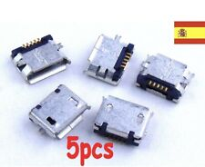 5X Connector Micro USB Female 5 Pin For Mobile Tablet Port Of Charging And Data