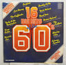 Pop - 16 Big Hits of the 60s Original Artists Compilation vinyl LP