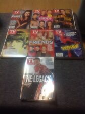 Lot Of 7 TV GUIDE 2000-2004 Assorted Collectible Covers