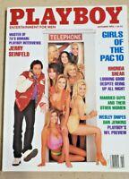 Near Mint Playboy October 1993 Jerry Seinfeld Rhonda Shear Vintage