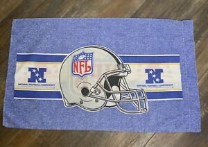 Vintage NFL Football Pillowcase 1995 30 X 17 Bedroom Bed Home Decor