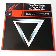 Van Der Graaf Generator - Repeat Performance - Vinyl LP Italy 1st Press Comp