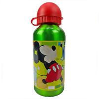 Botella Disney Mickey Mouse Botella En Aluminio Con Caño 400 ML 1619