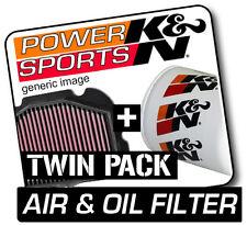 798 2009-2013 K&n Kn air BMW F800R & Filtros de Aceite Motocicleta Twin Pack!