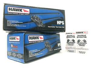 Hawk HPS Front + Rear Brake Pads Lexus GS300 GS400 GS430 IS300 SC430
