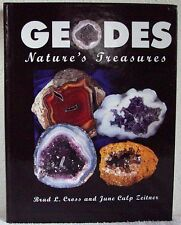 GEODES Nature's Treasures Cross / Zeitner 1st Print Hardcover Signed Collectible