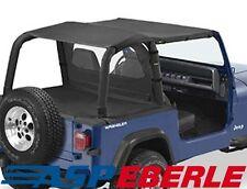 Safari Bikinitop Bestop schwarz Stoffdach Softtop Jeep Wrangler YJ 92-95