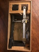WEBSTER SCALE RW-1 HYDRALIC DAMPERS ALUMINUM RELOADING POWDER SCALE BALANCE BEAM