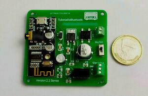 STEREO - Bluetooth Modul für Röhrenradios SABA, Grundig, Telefunken, usw.