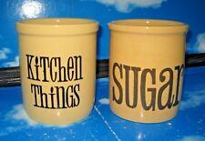 Vintage TG Green Granville Kitchen Storage Jars – Kitchen Things and Sugar