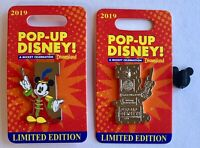 Pop Up Disney Mickey Celebration Letter I Pin LE 2000 Disneyland Band Leader