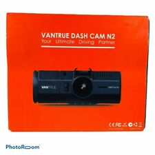 New listing Vantrue N2 Dual Dash Cam 1080P Front & Inside Camera Wide Night Vision Uber Lyft