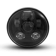 "Headlight Insert for Harley Davidson Sportster Models 5.75"" Black Projector LED"