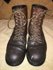 Red Wing Brown Leather Steel Toe Work Boots Size 13. AA