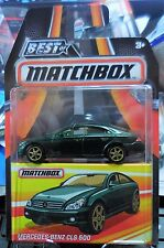 Mercedes-Benz CLS 500 * Green * Matchbox BEST OF 2016 w/ Real Riders