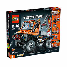 LEGO Technic Mercedes-Benz Unimog U 400 - 8110 - BOXED + INSTRUCTIONS - RARE !!!