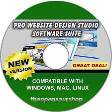 Web Designer Pro Software Pack – Create & Make Your Own Website & Webpages