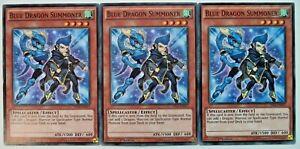 X3 YUGIOH BLUE DRAGON SOMMONER YS14-EN017 1st EDITION COMMON CARDS
