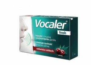 VOCALER FRESH 12 Tabl. Heiserkeit Halsschmerzen Stimmbänder frischer Atem