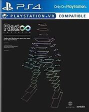 Rez Infinite iam8bit Exclusive (Sony PlayStation 4, 2016) PS4 Video Game