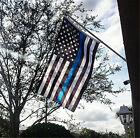 3x5' Thin Blue & Red Line Police & Fire respect and honor law enforcement Flag