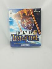 Civilization II: Test of Time PC CD Game Complete BIG BOX PC GAME 1998