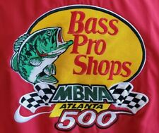 Bass Pro Shop MBNA Atlanta 500 Racing Jacket Size XL Official Pit Crew 2004