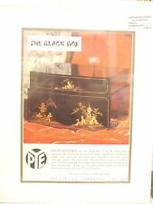 Original 1954 Vintage Advert mounted ready to framed Pye Black Box Hi Fi Chinese