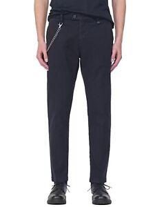 Pantalone chino uomo marca Antony Morato modello slim ankle kerr colore blu